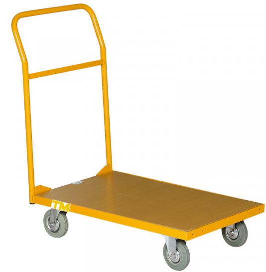 chariot de manutention 1 plateau bois
