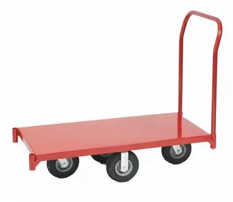 Chariot de manutention-rouge-750kg-fiche technique