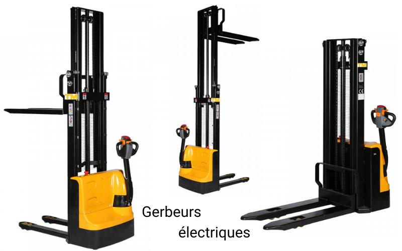 gerbeurs électriques guide achat tm