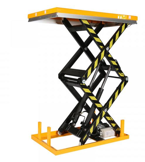 table elevatrice electrique double ciseaux 1000 kg