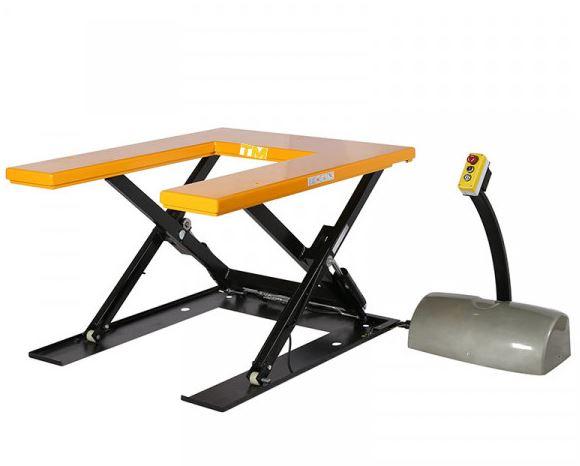 table élévatrice électrique 1000 kg 220 volts