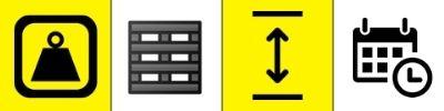 pictogramme critère transpalette