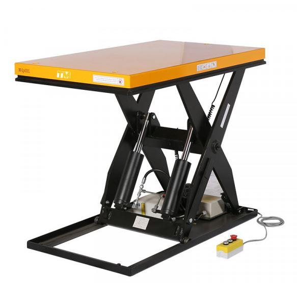 table élévatrice 2 tonnes plateau 1300 x 1000 mm